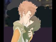 Jonathan and Mavis Kiss Happy ending