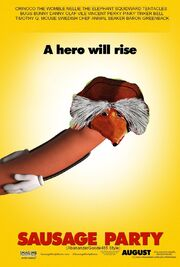 Sausage Party (AbananzerGoode485 Style) Poster