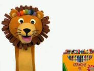 Lion with Some Crayons