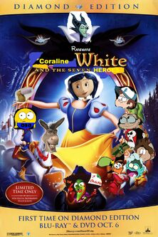 Coraline White and the Seven Heroes Poster