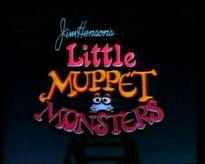 Little Muppet Monsters title card