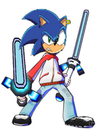 Sonic the Hedgehog as Spike