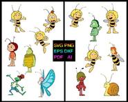 Maya the Bee Characters