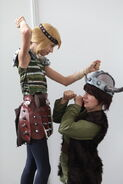 How to train your dragon hiccup and astrid by haricovert cosplay-d4hv7qf