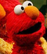 Elmo in Sesame Street