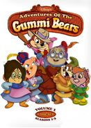 The advantures of the gummi chipmunks
