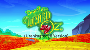 Dorothy and the Wizard of Oz (Uranimated18 Version)