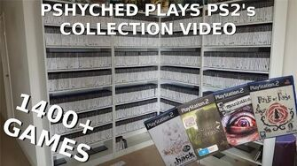 Overview my PAL Playstation 2 DVD Collection with Front Covers-0