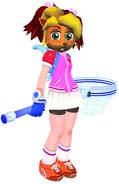 Coco Bandicoot as Yumi