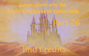 Sarah White and The Seven Nickelodeon Characters Part 26 - End Credits