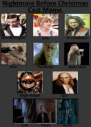 The Nightmare Before Christmas Cast Meme