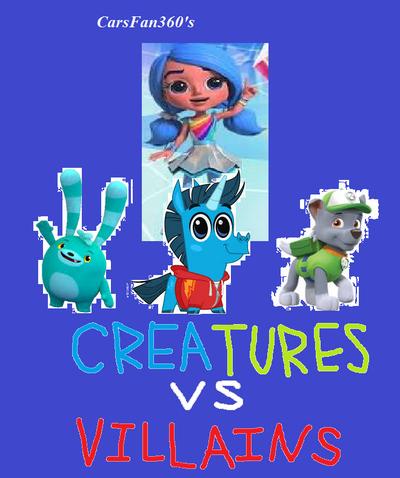 The CarsFan360's Posters Part 60 - Creatures vs Villains