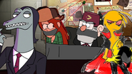 Wendy and Grunkle Stan Damsel