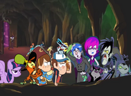 Twilight, Wander, Dipper, Mabel and Rapido Gets Angry Tells Grim, Hildy, Vlad, Nicolai and Mitch