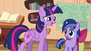 MLPCVTFQ - Twilight Sparkle says for Twilight Jr. Take a little time, just look at where we are.