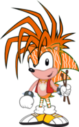 Manic the Hedgehog as Tily