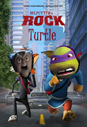 Rock Turtle Poster