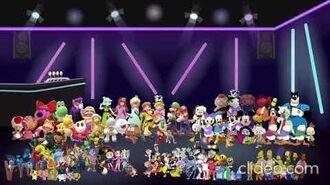 Characters dances to disney carnival reversed