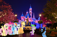 MLPCVTFQ - Sylvia Applejack Rainbow Dash Rarity Pinkie Pie Fluttershy and Spike in Festival End Credits