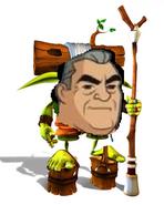 Grandpa Max as Samos Hagai