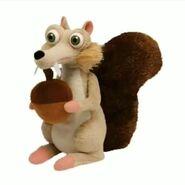 Scrat Plush Toy