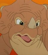 Cera in The Land Before Time 5 The Mysterious Island