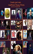 Unnofficial Disney Villains (Part 1)