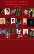 My Uniffical Non-Disney Princes (Movies236367's Version) (Part 4)