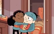 Frida hugging Hilda