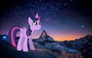 MLPCV - Twilight Sparkle ''Tough the Sky''