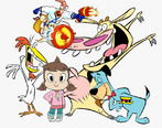Audrey Smith, Cow Chicken Earthworm Jim, Peter Puppy and Huckelberry Hound