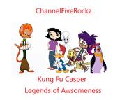 Kung Fu Casper Legends of Awsomeness