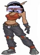 Pearl as Taryn