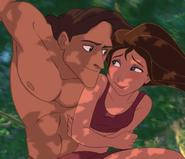 Tarzan and Jane Porter (Tarzan; 1999)