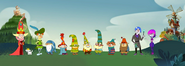 The 7D Characters