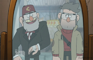Grunkle Stan and Ford Pines
