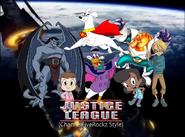 Justice League (ChannelFiveRockz Style) Poster