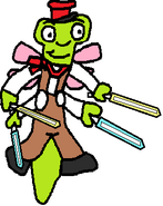 It's Simon Dragonfly (four colored sabers)
