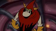 S1e13b Lord Hater stares at the Flendar king