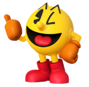 Pac-man with SSB4