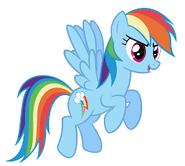 Rainbow Dash (Bold Pose)