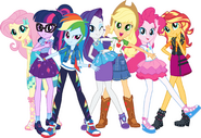 My Little Pony Equestria Girls Characters