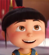 Agnes in Despicable Me 3
