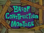 The Brief construction montage
