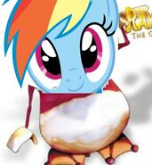 Rainbow Dash as Oktette