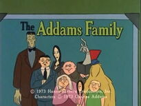 The Addams Family (1973 animated series) title card