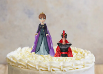 Anna and Jafar on the Cake 2 by Davidchannel