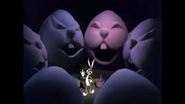 Bugs Bunny is Dreaming of Easter Eggs with Faces on It by ChannelFiveRockz