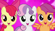 Cutie Mark Crusaders excited Crystail Empire S03E11