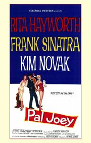 1957 - Pal Joey Movie Poster